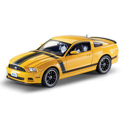 1:18-Scale 2013 Ford Mustang Boss..