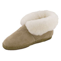 Womens Fleece Lined Bootie Slippers