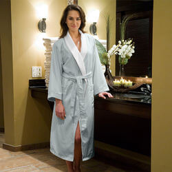 Micro Plush Bathrobes For Women