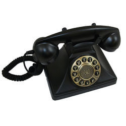 Vintage Touch-Tone Desk Phone With..