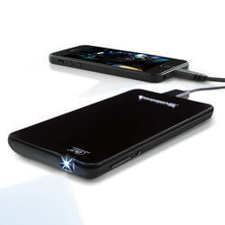 Brookstone® Pocket Projector Slim