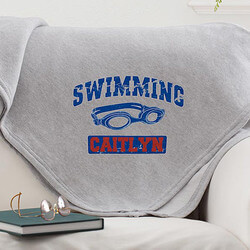 Personalized Girls Sports Fleece..