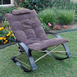Folding Outdoor Rocking Chair With..