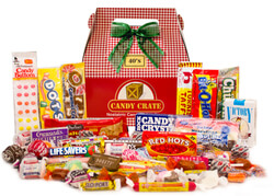 Holiday Retro Candy Gift Boxes