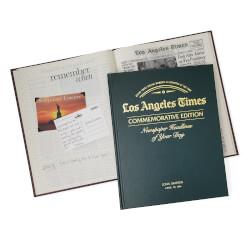 LA Times Custom Birthday Book
