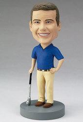 Custom Golfer Bobblehead -..