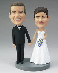 Wedding Couple Bobblehead - Custom..