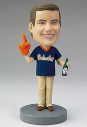 Custom Bobblehead Of A Sports Fan..