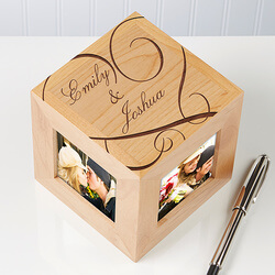 Personalized Picture Frame Cubes -..
