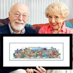 50th Anniversary Memory Lane Art..