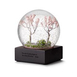 Cherry Blossom Snow Globe