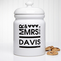 Personalized Cookie Jars - Mr And..