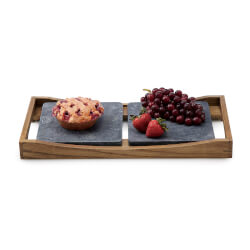Hot And Cold Soapstone Serving..