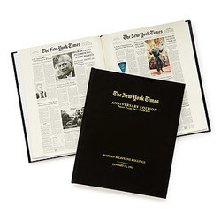 New York Times Custom Anniversary..