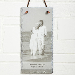 Personalized Photo Slate Wall..