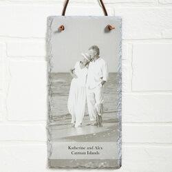 Personalized Photo Slate Wall..
