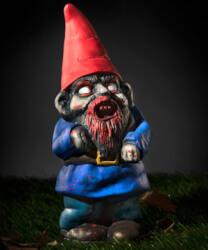 Zombie Gnome Garden Sculpture
