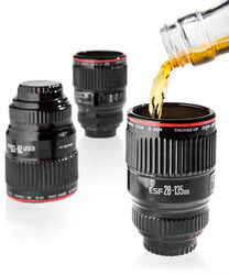 Camera Lens Shot Glasses (Set Of..