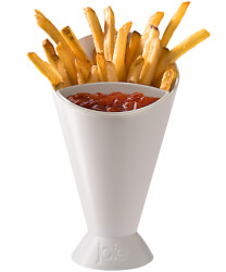 The French Fry Dipping Cone