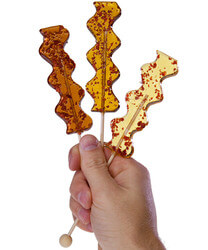 Bacon Pops Gourmet Savory Lollipops