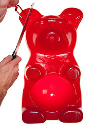 The 26-Pound Party Gummy Bear