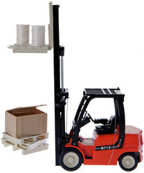 R/C Forklift With Shelving,..