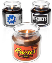 Hersheys Chocolate Candy Jar..