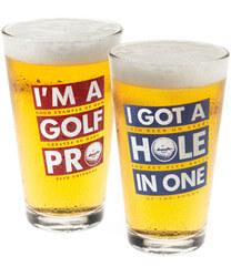 Golf Beer Pints