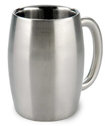 Double Wall Stainless Steel Beer Mug