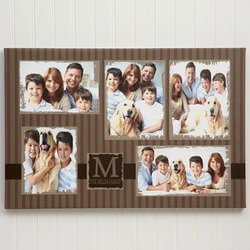 5 Photo Collage Custom Canvas..