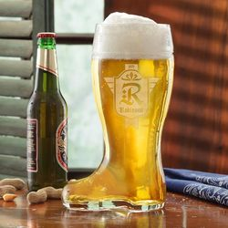 Personalized Beer Boot - Family..