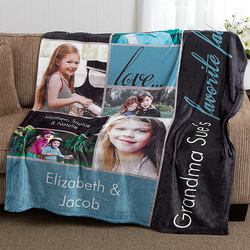 Fleece Photo Blanket 50x60 - My..