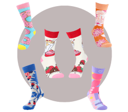 Wild & Crazy Sock Subscription For..