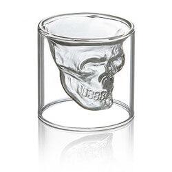 Doomed Crystal Skull Shotglass By..