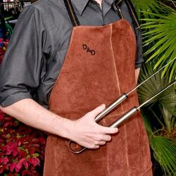 Personalized Leather BBQ Grilling..