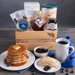 New England Breakfast Gift Basket..