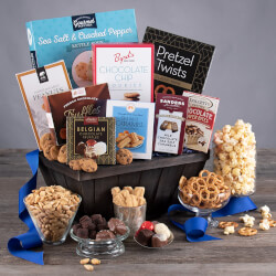 Snack And Chocolate Gift Basket -..