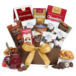 Coffee And Chocolates Gift Basket..