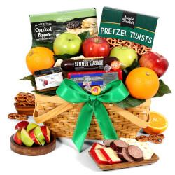 Fruit Gift Basket Deluxe