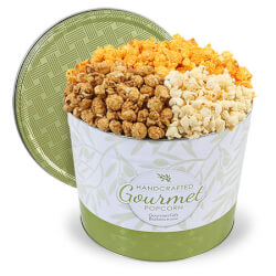 Peoples Choice Gourmet Popcorn Tin