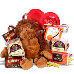 Wild About You Romantic Gift Basket