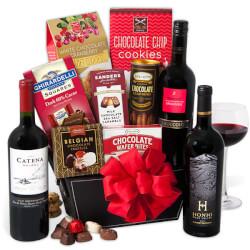 Red Wine & Dark Chocolate Gift..