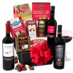 Red Wine & Dark Chocolate Gift..