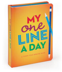 One Line A Day: 3-Year Memory Book