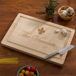 Personalized Maple Cutting Board..