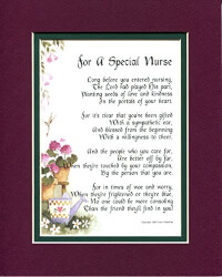 Original Poems For Nurse