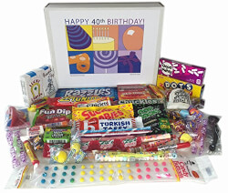 40th Birthday Gift Box Of Retro..