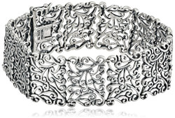 Filigree Vine Pattern Bracelet