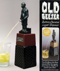Old Geezer Liquor Dispenser