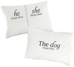 He, She, The Dog Sleeps Here
